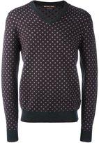 Michael Kors geometric pattern pullover