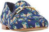 Dune Guru Buckle Loafers, Blue
