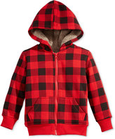 Epic Threads Little Boys' Buffalo Plaid Hoodie, Only at Macy's