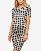 Isabella Oliver Maternity Houndstooth Sheath Dress