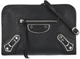 Balenciaga Reporter Leather Crossbody Bag