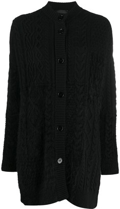 Roberto Collina Cable Knit Cardigan
