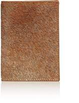 Barneys New York Men's Haircalf Passport Case
