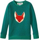 Siaomimi Fox Sweatshirt (Toddler/Kid) - Green - 5