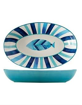 Maxwell & Williams Reef Oval Serving Bowl 42 x 26Cm