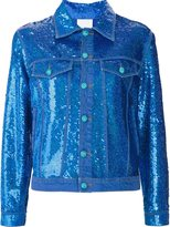 Ashish sequin effect denim jacket - women - Cotton/Sequin - S