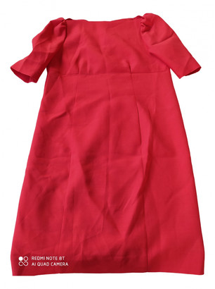 Moschino Red Silk Dresses