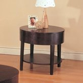 Coaster Home Furnishings 3940 Casual End Table, Cappuccino