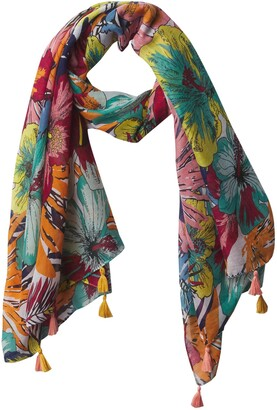 Tickled Pink Womens Urban Jungle Scarf