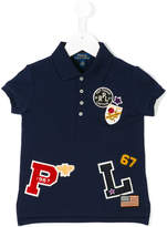 Ralph Lauren logo patch polo shirt