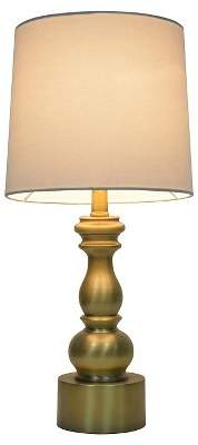 Turned Table Lamp Touch Control - PillowfortTM