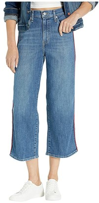 Levi's Womens Mile High Wide Leg Crop (Pipe Down) Women's Jeans
