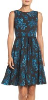 Adrianna Papell Fit & Flare Dress