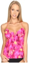 Speedo Print Tankini Top Women's Swimwear