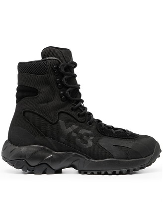 Y-3 Notoma chunky sole boots
