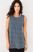 J. Jill Wearever Printed Long Tank