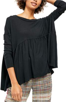 Free People Forever Your Girl Drape Tee