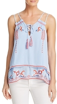 Parker Robin Embroidered Top