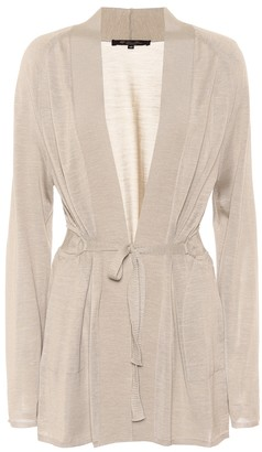Loro Piana Mouli silk and linen cardigan
