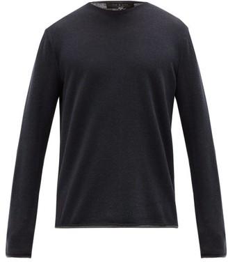 Rag & Bone Trent Wool-blend Sweater - Mens - Navy