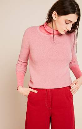 American Vintage Rose Wool Nanibeach Womens Jumper - wool | rose | small - Rose