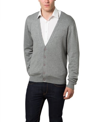 Lower East Men's Cardigan with V-Neck