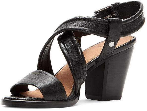 Dani Slingback Crisscross Sandals Women's Block Heel b7yf6g