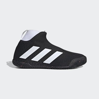 adidas Stycon laceless hard court tennis shoes