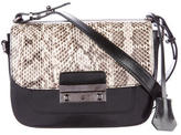 Barbara Bui Snakeskin Crossbody Bag