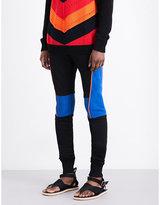 Balmain Calecon Slim-fit Cotton-jersey Jogging Bottoms