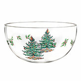 Spode Christmas Tree Glass Serving Bowl