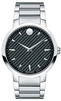 Movado Mens Gravity Steel Swiss Watch