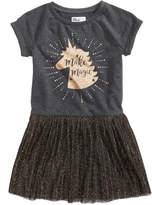 Epic Threads Unicorn-Print Sweatshirt Dress, Little Girls (4-6X), Created for Macy's