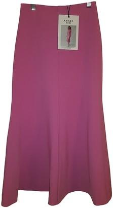 Awake Pink Polyester Skirts