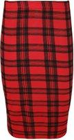 WearAll Women's Various Prints (Aztec, Tartan, Leopard Stripe) Midi Skirts - US 8-10 (UK 12-14)