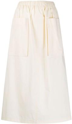 Roberto Collina Toile Style Cotton Skirt