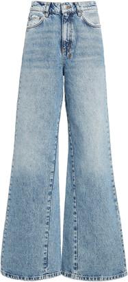 Ksubi Kicker Rigid High-Rise Wide-Leg Jeans