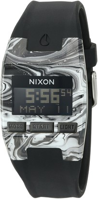 Nixon Men's 'Comp S' Plastic and Silicone Automatic Watch Color:Black (Model: A3362193-00)
