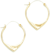 Pamela Love Kay Hoop Earrings