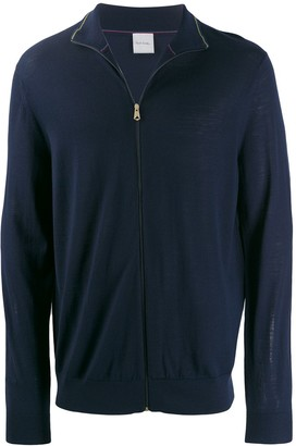 Paul Smith Zip Up Sweatshirt