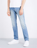 Armani Jeans J06 regular-fit straight mid-rise jeans