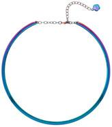Trina Turk Iridescent Torque Frontal Necklace
