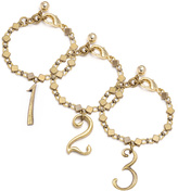 Lulu Frost Plaza Number Bracelet - Diamond Chain