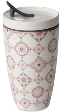 Villeroy & Boch Modern Dining Rose Coffee Mug with Lid