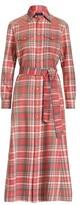 Thumbnail for your product : Ralph Lauren Plaid Cotton Shirtdress - Size 6