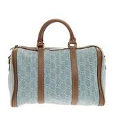 Gucci Blue Leather Handbag