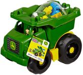 Mega Bloks John Deere First Builders Dump Truck Set by