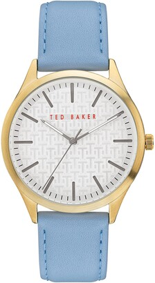 Ted Baker Men's Manhattan Leather Strap Watch, 40mm