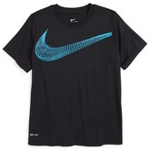 Nike Boy's Legend Logo Dri-Fit T-Shirt