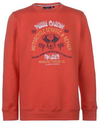 Pierre Cardin Printed Sweatshirt Mens